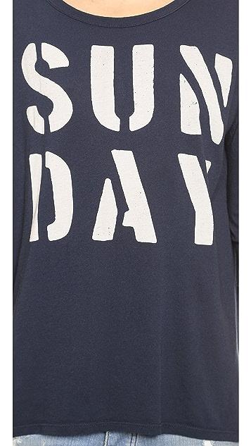SUNDRY Sunday 3/4 Sleeve Tunic