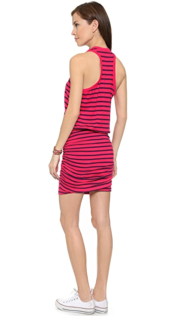 11630fd29140b SUNDRY Striped Sleeveless Dress  SUNDRY Striped Sleeveless Dress ...