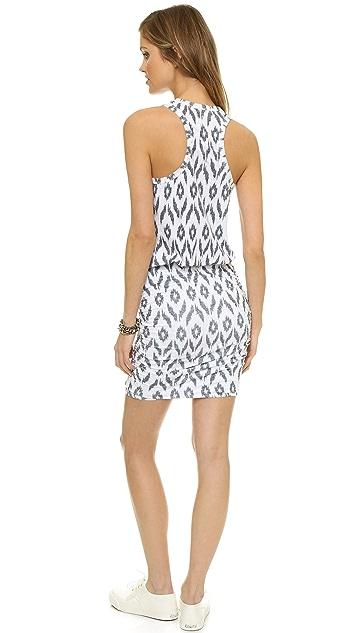 SUNDRY Ikat Sleeveless Dress
