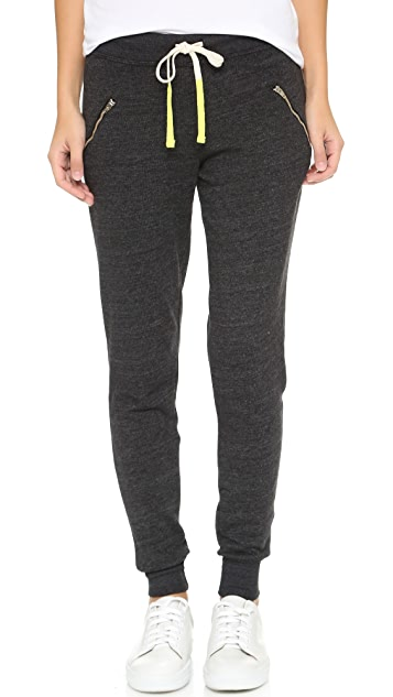 SUNDRY Zipper Sweatpants