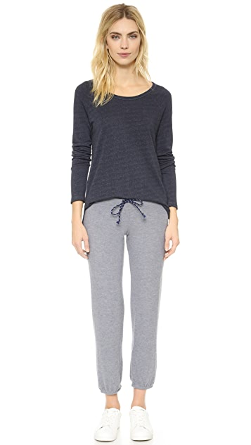 SUNDRY Cozy Knit Sweatpants