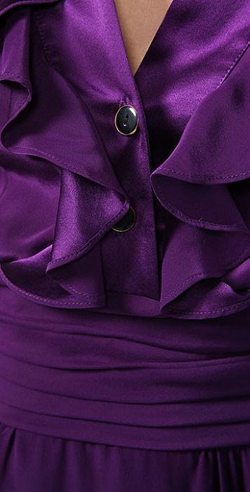 Sunner Florent Ruffle Dress