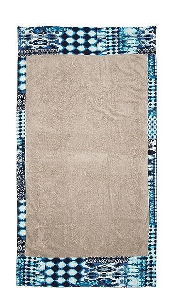 Sun Of A Beach Mykonos Blues Towel