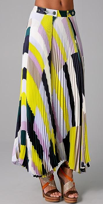 b64f2d0948 SUNO Pleated Long Skirt | SHOPBOP