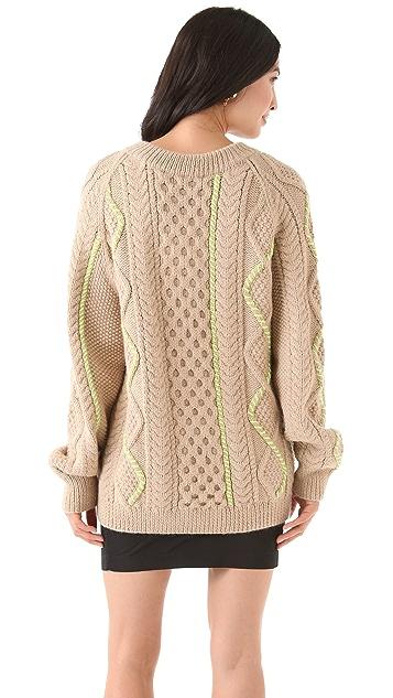 SUNO Fisherman Sweater