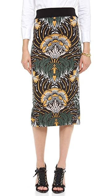 SUNO Knit Pencil Skirt