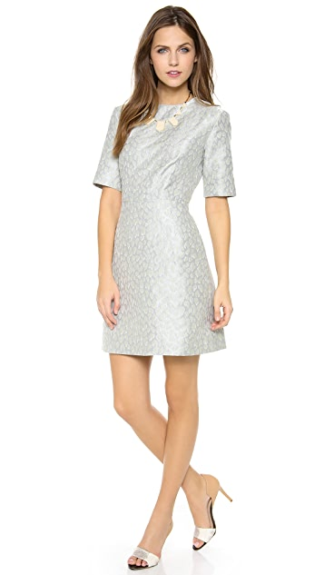 SUNO Flared Mini Dress