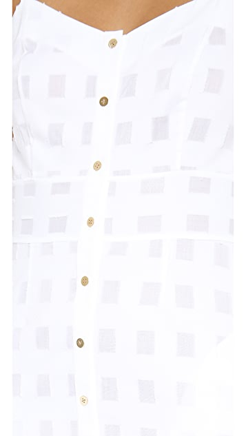 SUNO A Line Empire Dress
