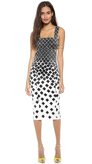 SUNO Cutout Dress