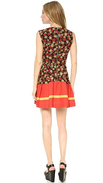 SUNO Deep V Dress