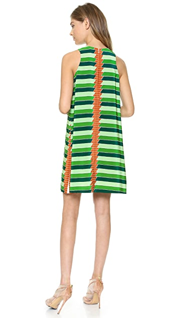 SUNO Center Pleat Dress