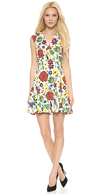 SUNO V Neck Dress