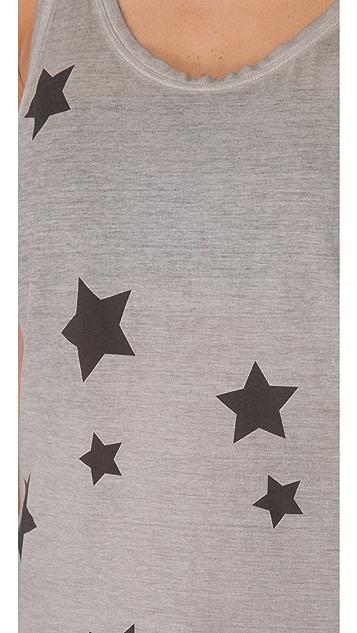 Superfine Star Print Tank Top