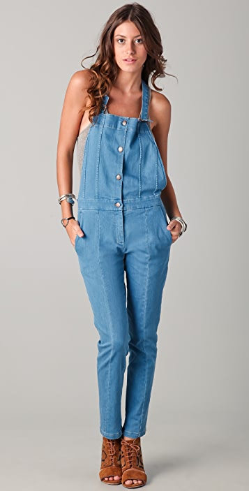 Surface to Air Dede Denim Overalls