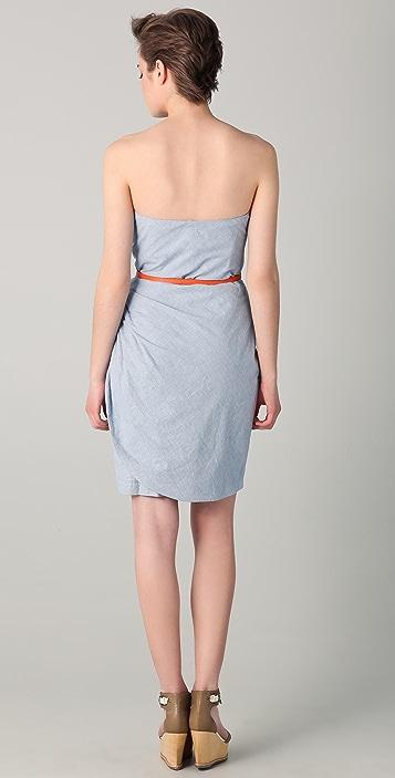 Surface to Air Vienna Strapless Dress
