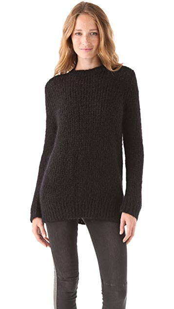 Surface to Air Grid Sweater