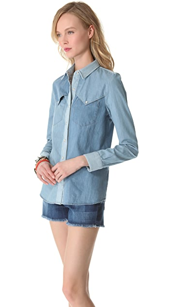 Surface to Air Amy Denim Shirt