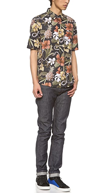 Surface to Air Aloha Cadillac Short Sleeve Shirt