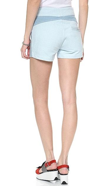 Surface to Air Row Denim Shorts