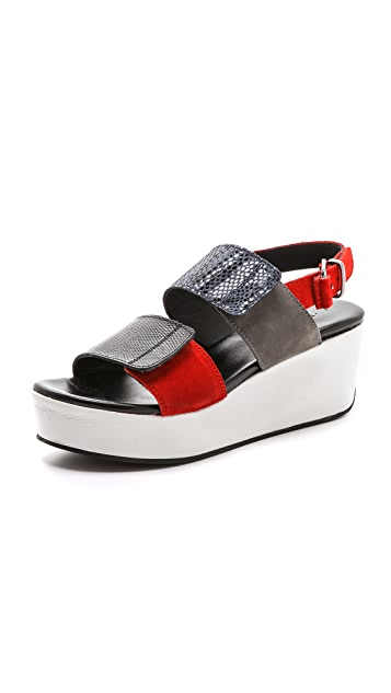 Surface to Air Poly Two Band Sandals