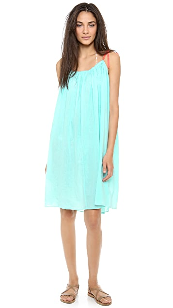 Surf Bazaar Shoulder Tie Dress