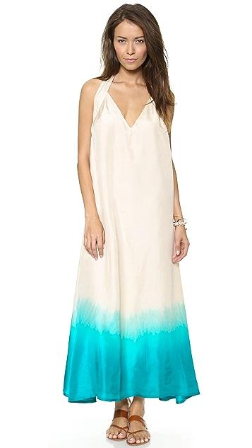 Surf Bazaar Halter Maxi Dress