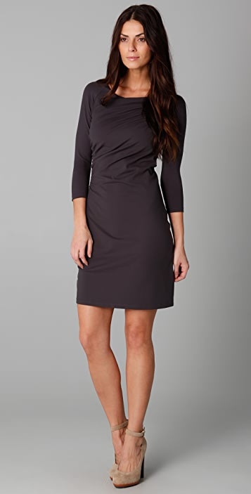 Susana Monaco Cross Drape Dress