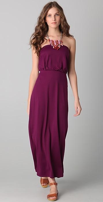 3f217a8fc45c0 Susana Monaco Blouson Tube Maxi Dress | SHOPBOP