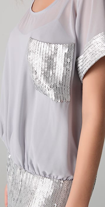 Susana Monaco Tahlia Sequined Dress