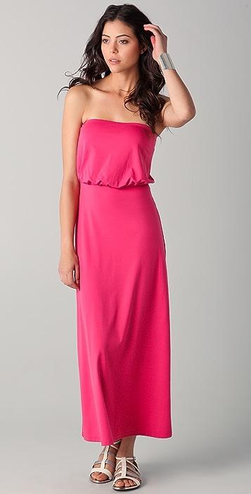 Susana Monaco Blouson StraplessTube Dress