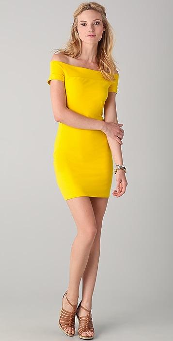 Susana Monaco Naimi Band Off the Shoulder Dress