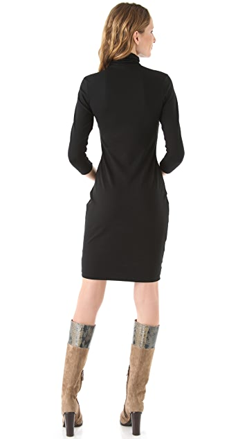 Susana Monaco Kat Turtleneck Dress