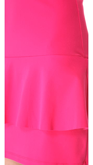 Susana Monaco Peplum Tank Dress