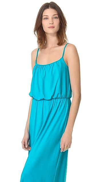 Susana Monaco Blouson Tank Maxi Dress
