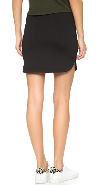 Susana Monaco Shirttail Skirt