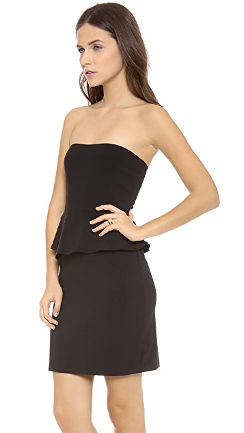 Susana Monaco Esta Peplum Dress