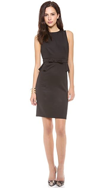 Susana Monaco Mina Peplum Dress