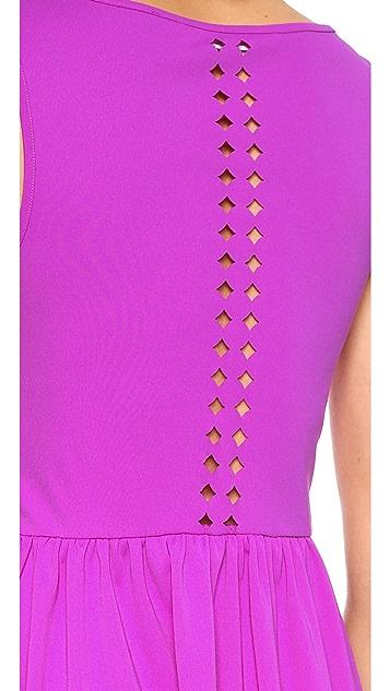Susana Monaco Mara Laser Cut Dress