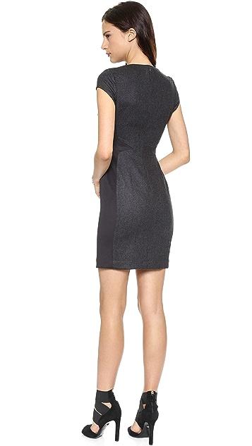 Susana Monaco Stella Wool Sheath Dress