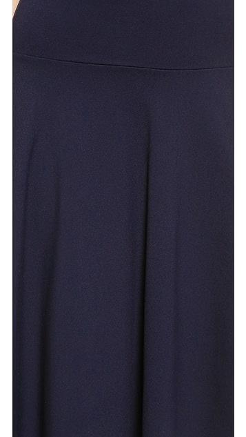 Susana Monaco High Waisted Tea Skirt