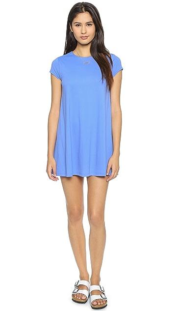 Susana Monaco Draped Mini Dress