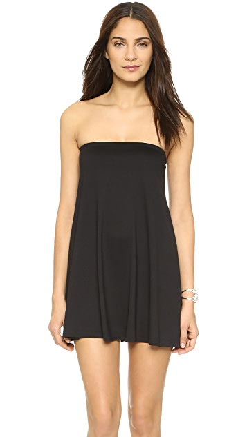 Susana Monaco Tube Drape Tunic Dress