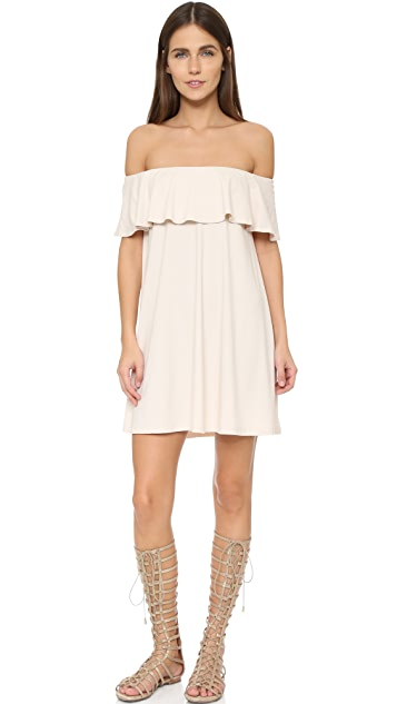 Susana Monaco Fifi Off the Shoulder Dress