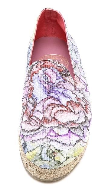SWASH Floral Gatsby Espadrilles