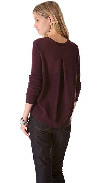 360 SWEATER Gia with Back Pleats