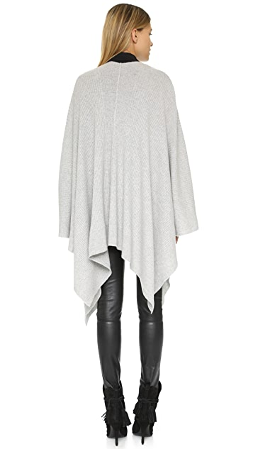 360 SWEATER Cashmere Olivera Wrap Sweater