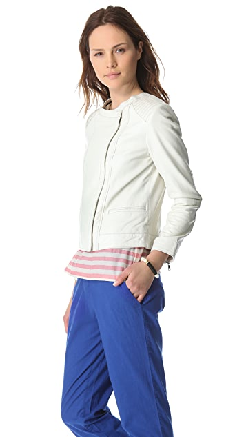 Swildens Itself Leather Jacket