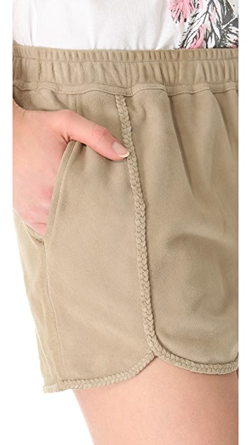 Swildens Igue Suede Shorts