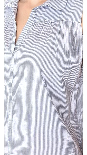 Swildens Goose Sleeveless Collared Shirt