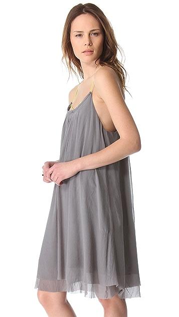 Swildens Inlay Sleeveless Dress